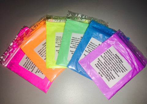 Neon Soap Dyes Sample Pack
