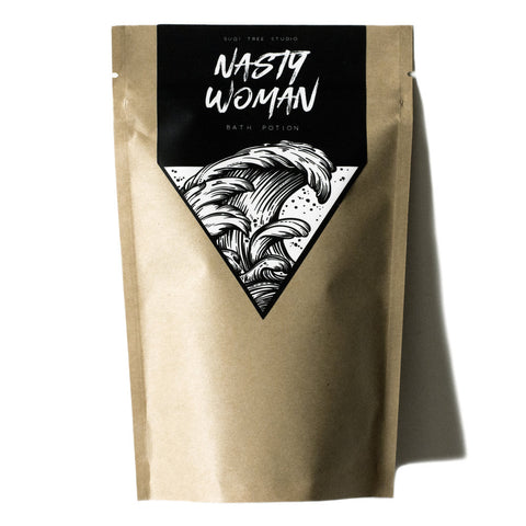 Nasty Women Bath Potion @ Sugi Tree Studio