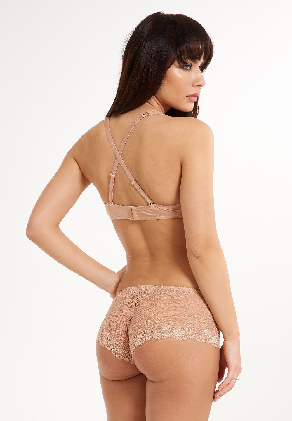 body short daily lace lingadore