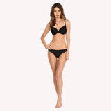 Bra T-shirt Lynn Parfait black seamless sportswear front model