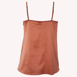 Back top Universe Lingadore soft satin warm copper