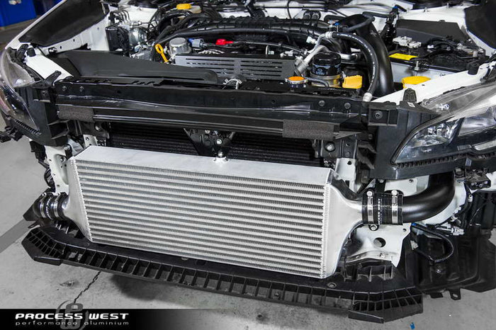 Process West - Front Mount Intercooler Kit (WRX VA 15-20) Silver Core