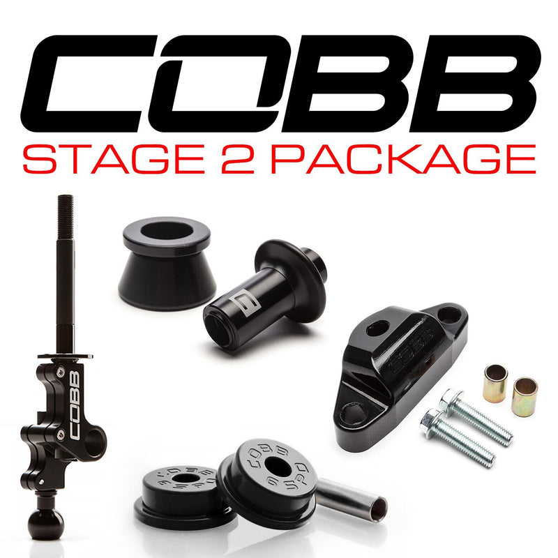 Cobb Tuning Stage 2 Drivetrain Package - STi (01-19) (6 Speed)
