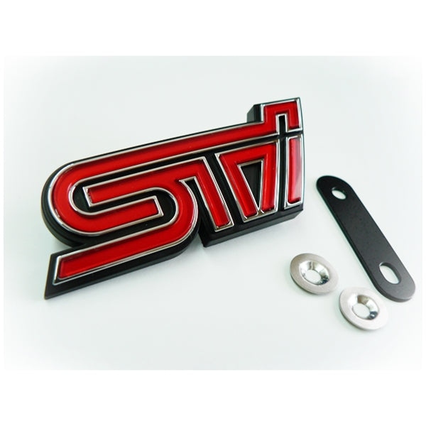 Subaru STi Grill Badge