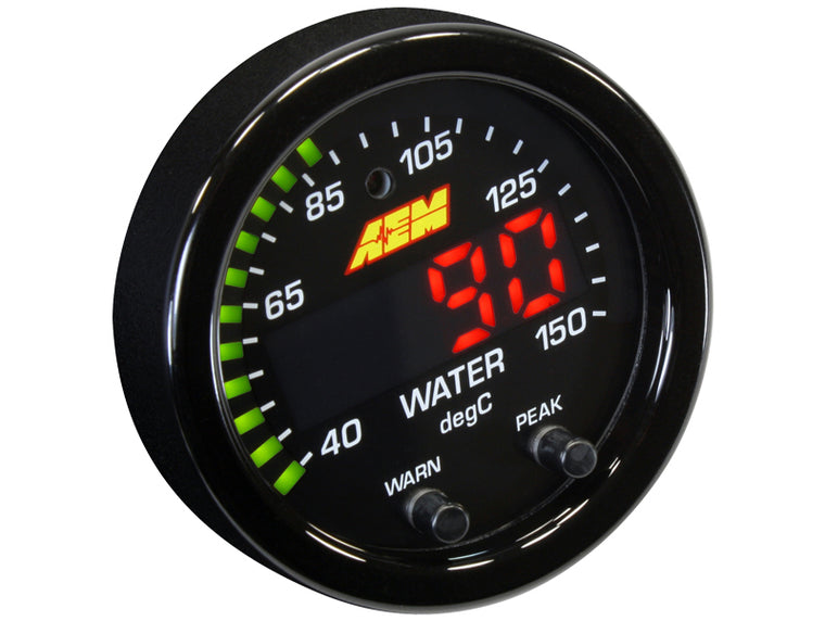 AEM - 150C Water Temp - X-Series Gauge