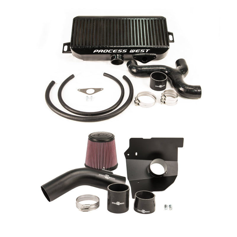 Process West Top Mount Intercooler & Intake Combo STi GR/GV (08-13)