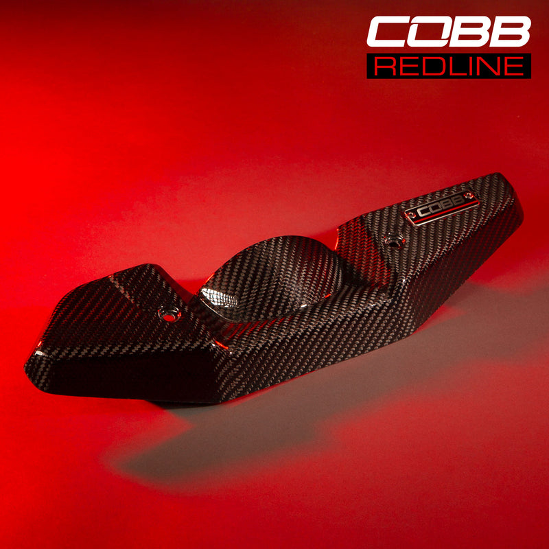 Cobb Tuning REDLINE Carbon Fibre Alternator Cover - (WRX 08-14)