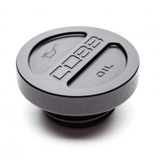 Cobb Tuning Billet Oil Cap Black - Subaru All Models (EJ20/EJ25)