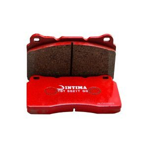 DBA + Intima Front & Rear Brake Package - DBA T2 Slotted Rotors + Intima SS Brake pads - WRX GC8 (98-00)