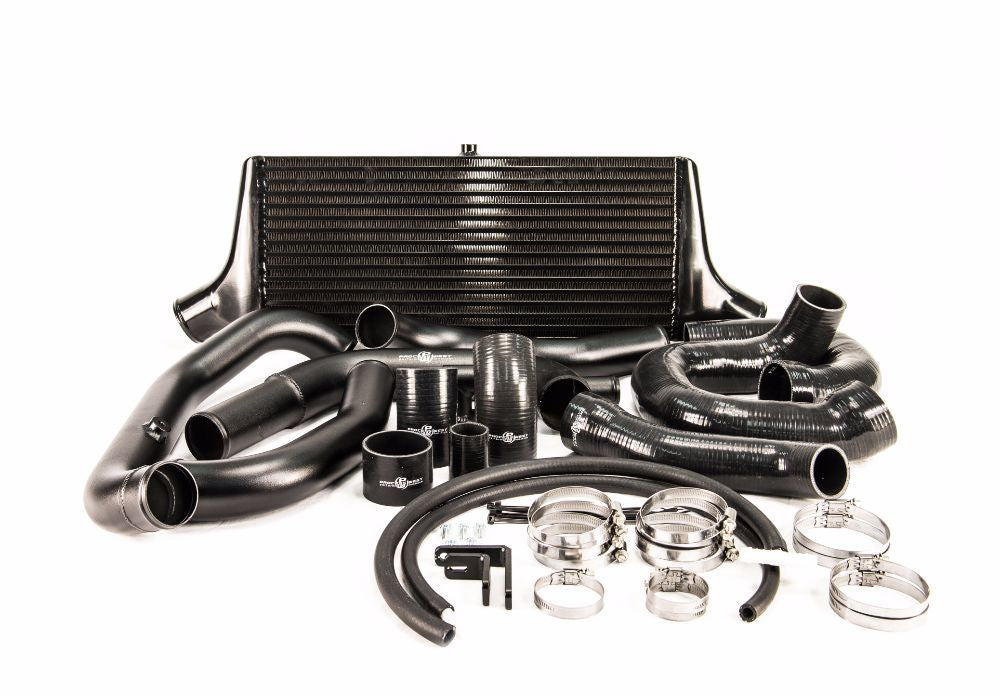 Process West - Front Mount Intercooler Kit (STi GR/GV 08-14) Black Core