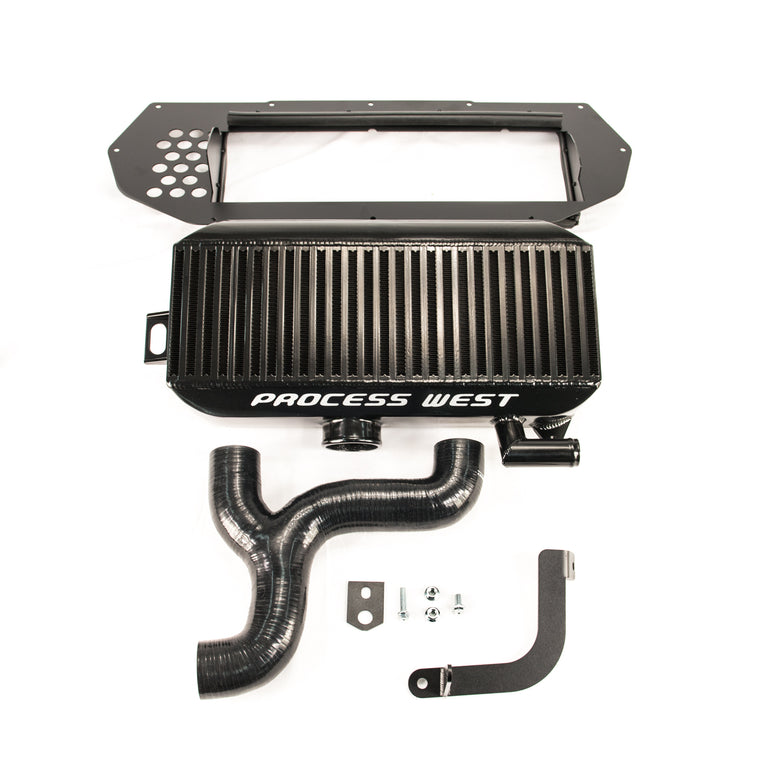 Process West - Top Mount Intercooler Kit ( WRX/STi GC8 97-98) - Black Core
