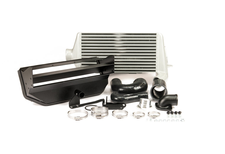 Process West - Verti-Cooler Intercooler Kit (WRX GR/GV 08-14) - Silver Core