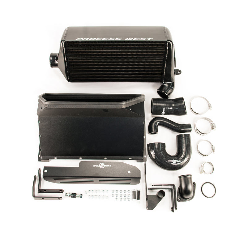 Process West - Verti-Cooler Intercooler Kit (Levorg 15-20) - Black Core