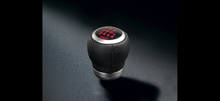 STi Leather Gear Knob - 6 Speed