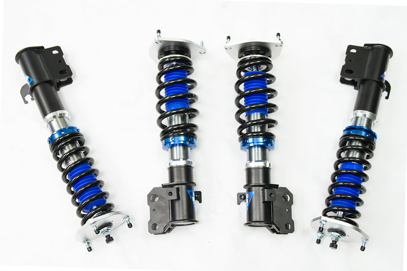 Rumble Pack + Coilovers - Invidia Q300 CBE + GFB - RESPONS Dual Port BOV + Silvers - NEOMAX - S Coilovers (WRX 08-14)