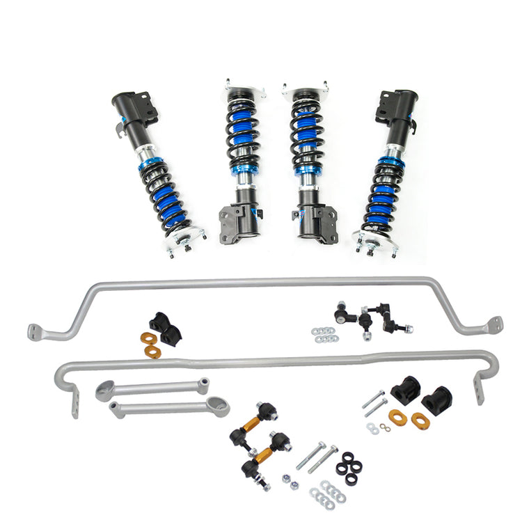 Silvers Neomax S Coilovers + Whiteline Swaybar Vehicle Kit - STi GR/GV (08-14)