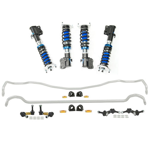 Silvers Neomax S Coilovers + Whiteline Swaybar Vehicle Kit - Liberty GT BL/BP (04-09)
