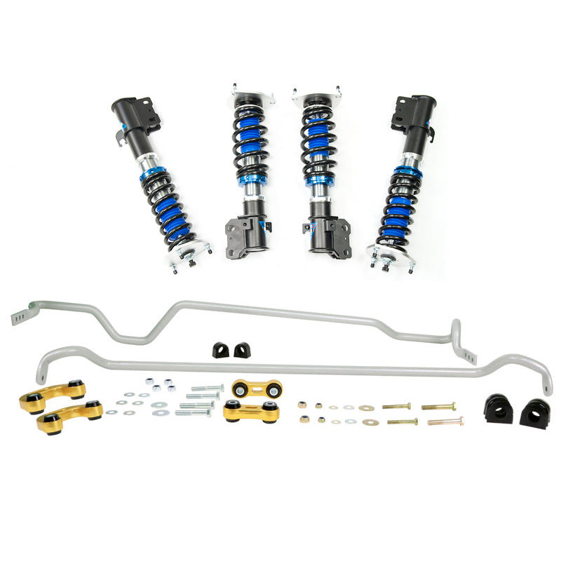 Silvers Neomax S Coilovers + Whiteline Swaybar Vehicle Kit - Forester SF GT (98-02)
