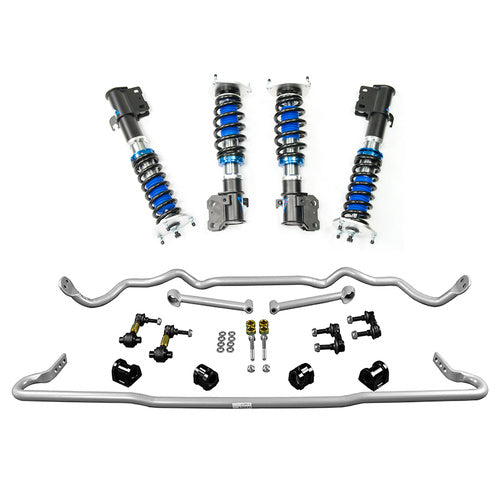 Silvers Neomax S Coilovers + Whiteline Swaybar Vehicle Kit - WRX VA (15-20)