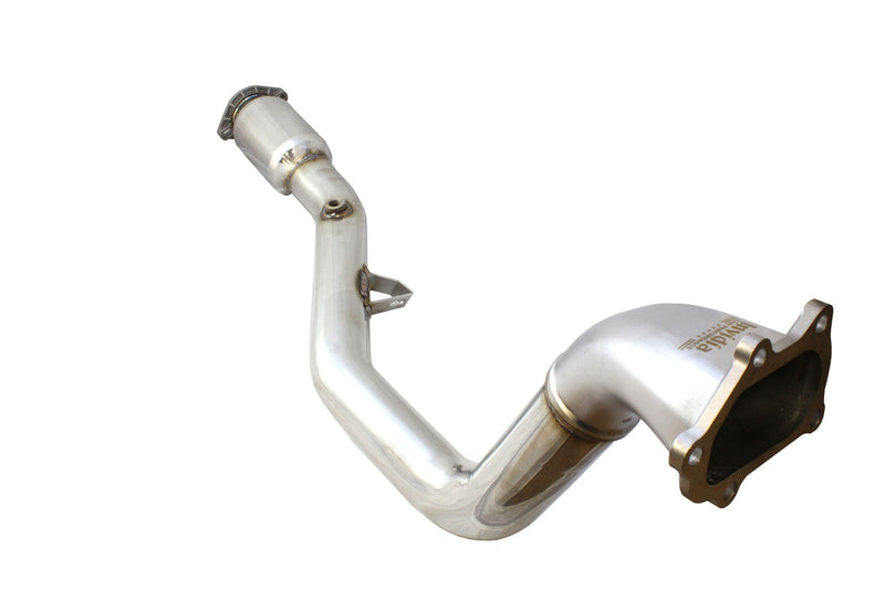 Invidia R400 Turbo back Exhaust - Ti Tips (STi 15+)