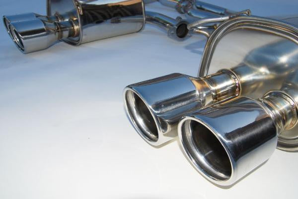 Invidia Q300 Cat back Exhaust - SS Tips (WRX Sedan 15+ CVT/Auto)
