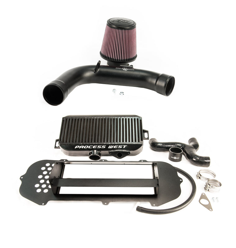 Process West Top Mount Intercooler & Intake Combo Forester SG XT (03-07)