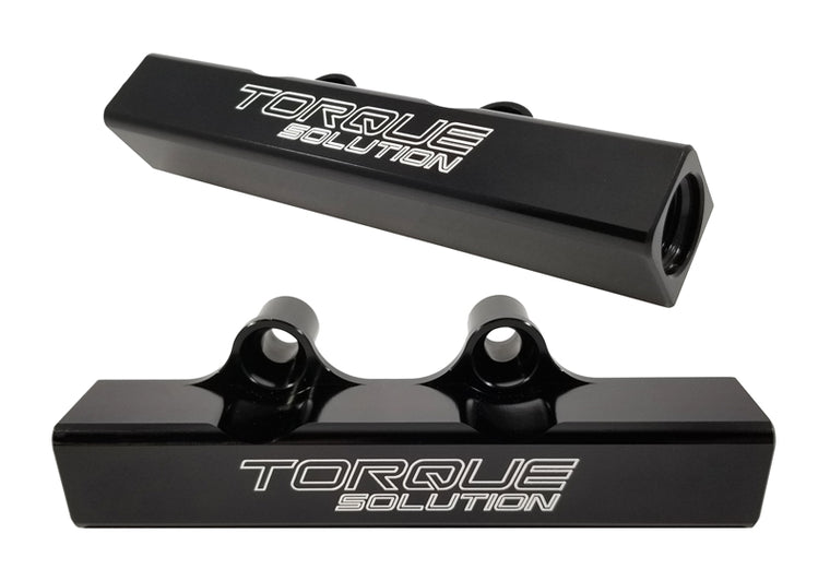 Torque Solution - Fuel Rails - Top Feed Upgrade - Subaru - Black