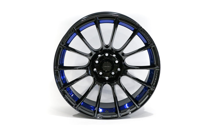 WedsSport - SA-72R -18×9.5 +45 - 5×100 - Blue Light Chrome (BLCII)