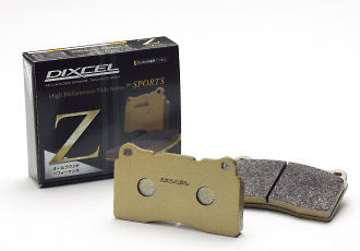 Dixcel Type Z Pads Front - (Forester SH XT 08-13)