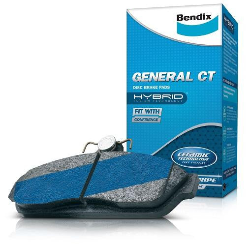 Bendix General CT Brake Pads - Front (Forester SF 97-02)