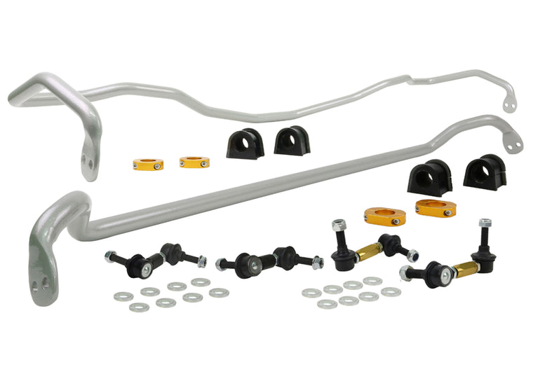 Whiteline - Complete Front and Rear Sway bar kit - BSK014 - LIBERTY BL/BP (03-09)