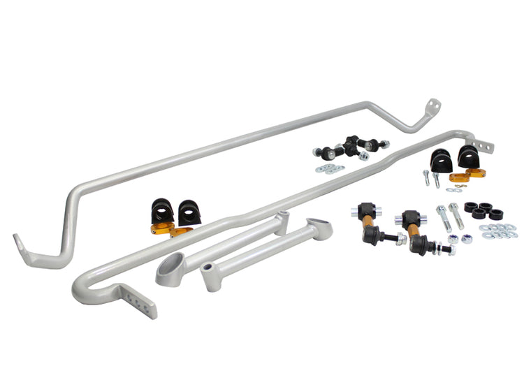 Whiteline - Complete Front and Rear Sway bar kit - BSK012 - WRX/STi (GR GV 10-14)