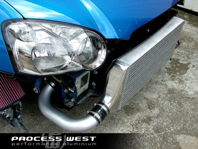 Process West - Front Mount Intercooler Kit (WRX/STi GD 06-07) - Silver Core