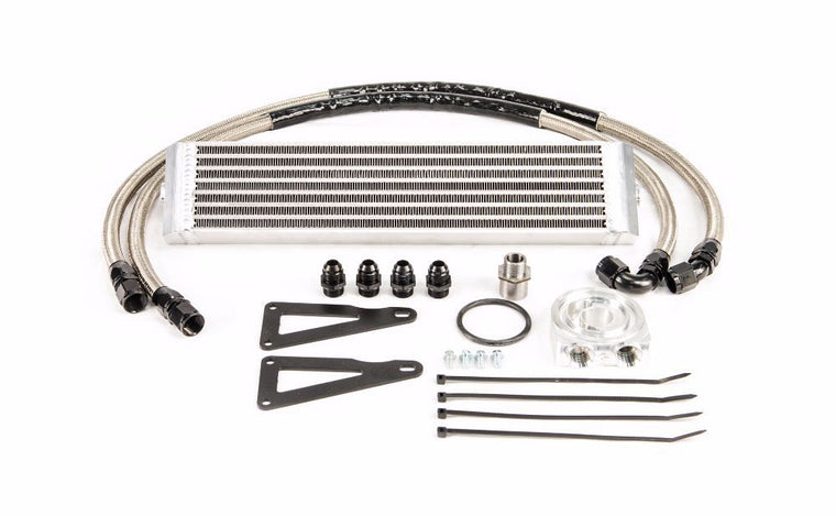 Process West - Engine Oil Cooler Kit (WRX/STI GR/GV 08-14) - Silver Core