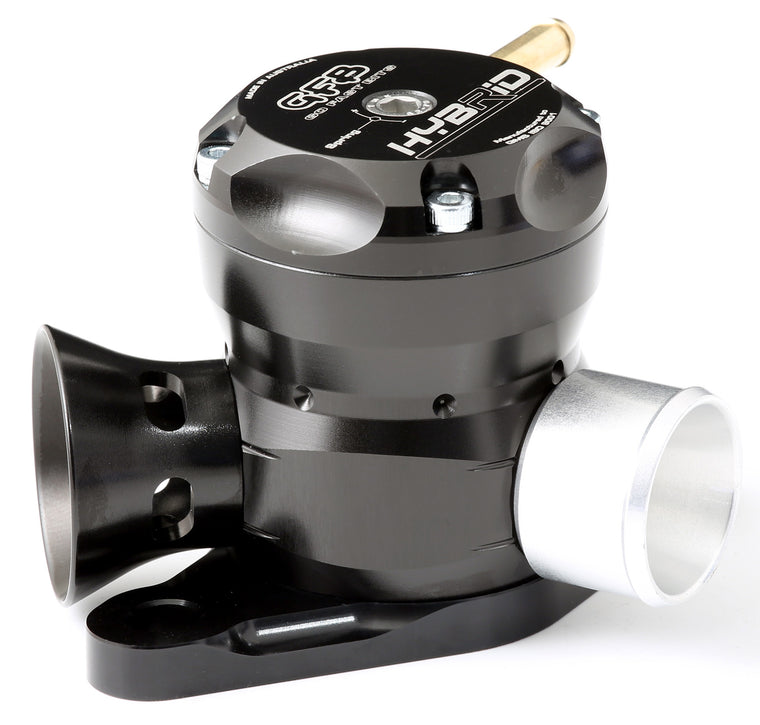 GFB - HYBRID - Dual Port BOV  (Forester 98-02) - Black