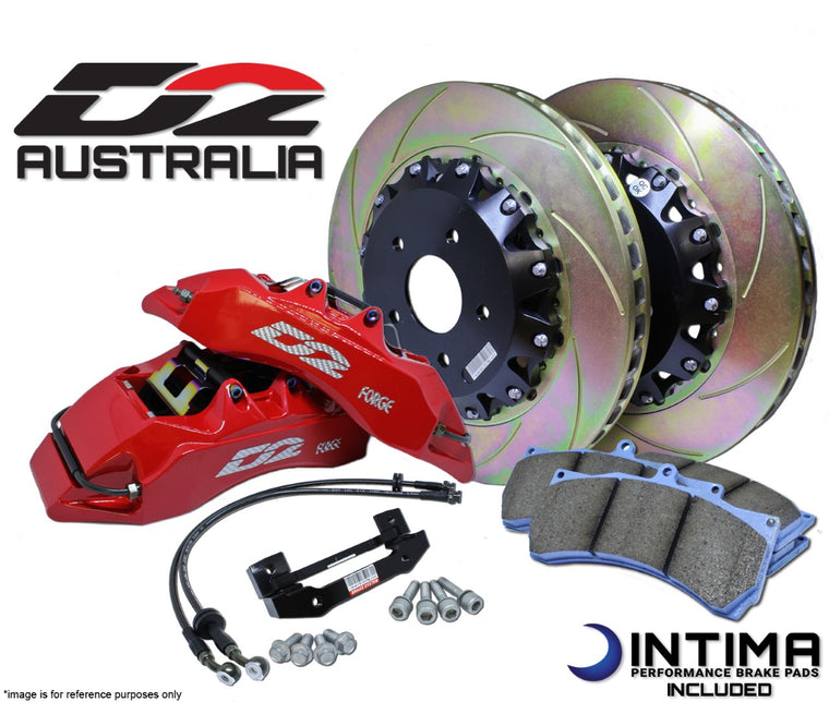 D2 - Big Brake Kit (BBK) - Rear (Levorg)