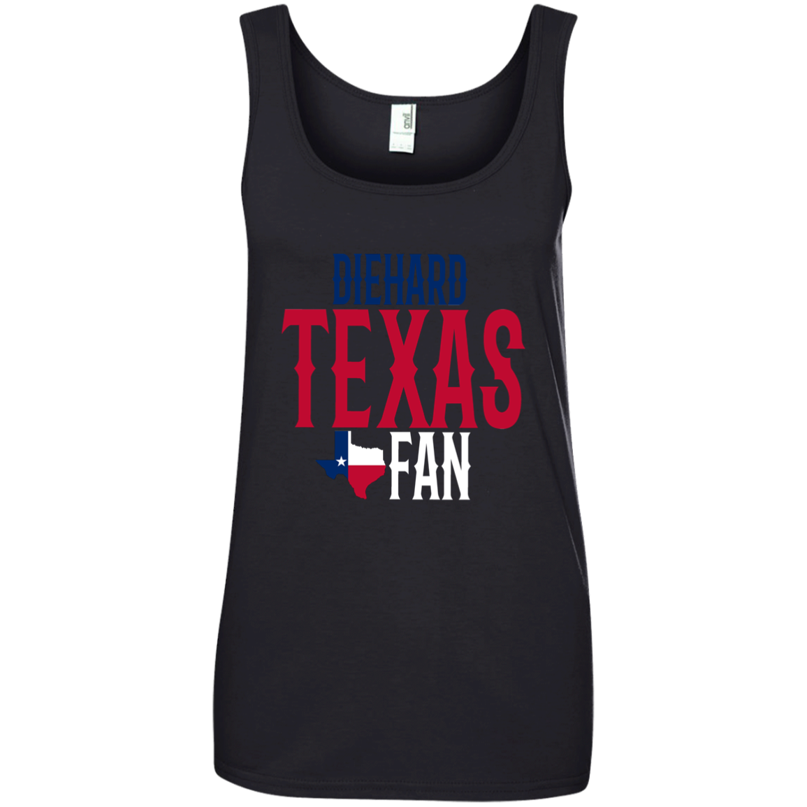 Diehard Texas Fand Tank Top