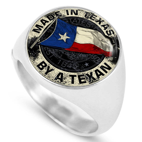 Made In Texas By A Texan Ring
