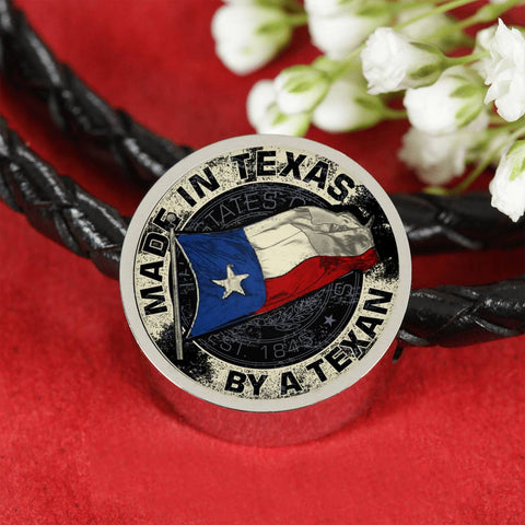Made In Texas By A Texan Luxury Leather Charm Bracelet