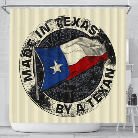 Made In Texas By A Texan Shower Curtain