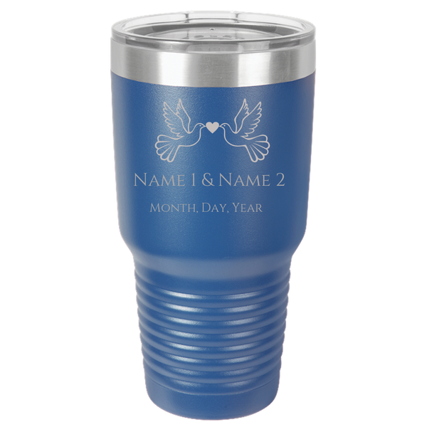 Polar Camel 30oz Ringneck Tumbler Laser Etched No Colored Art