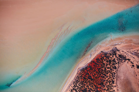Inlet, Shark Bay, Horizontal Print