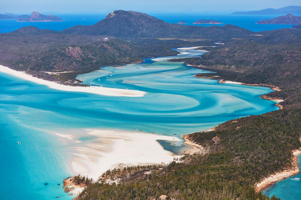 Whitehaven Beach, Horizontal Print