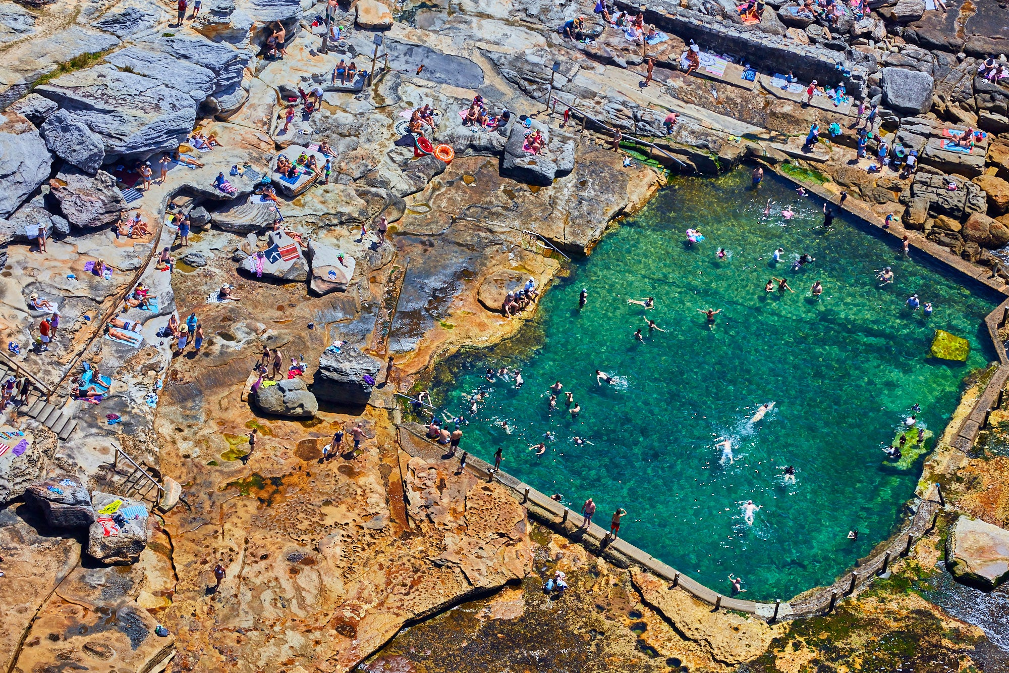 Mahon Pool, Horizontal Print