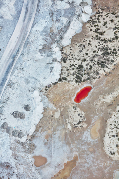 Gemstone, Great Salt Lake, Portrait Print