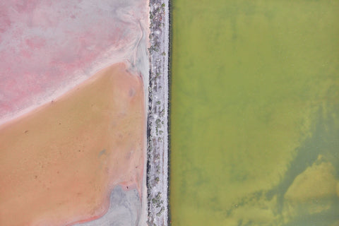 Colour Palette, Great Salt Lake, Horizontal Print