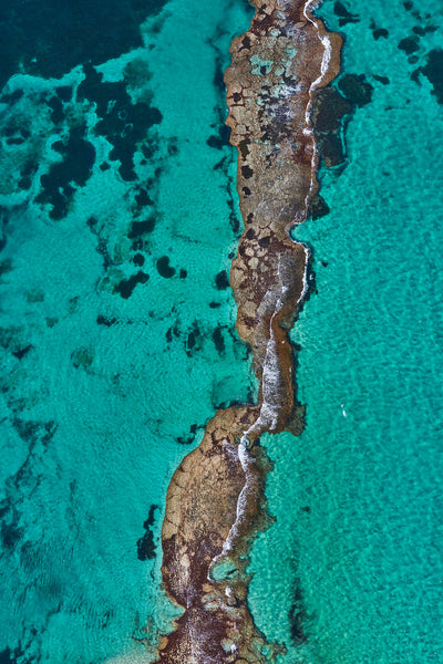 The Bridge, Rottnest Island, WA, Vertical Print