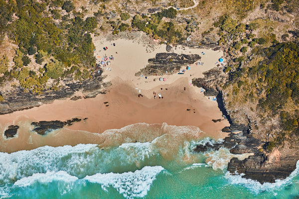 Oar Beach, Byron Bay, Horizontal Print
