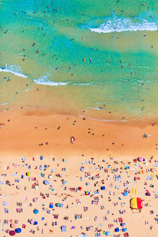 Bondi Beach, Vertical Print