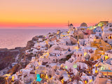 Oia Sunset, Greece, Horizontal Print